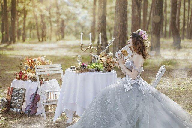 ベトナムで結婚する花嫁